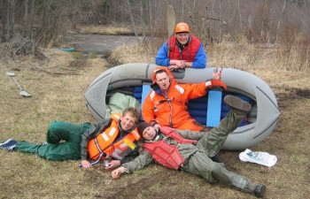 Amata: wildest brown water river in Baltics – 2000 – 2009 rafting history