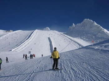 Zillertal: probably the largest alpine skiing area in Austria