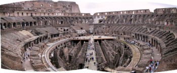 Searching for remains of Rome Empire: Rome, Pompei, Vesuvio, Villa Adriana, Tivoli..