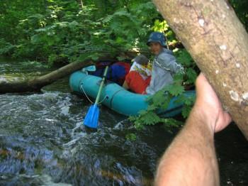 Tartaks: probably wildest river of Latvia…not always
