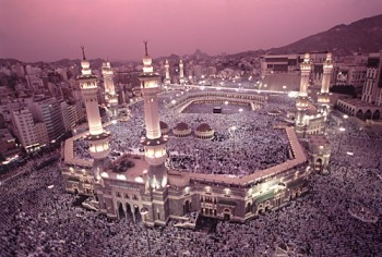 Mecca, Saudi Arabia: at least once in lifetime