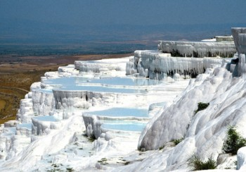 Pamukkale mineral terraces, Turkey