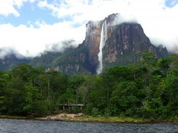 Angel Falls – world's highest waterfall, Venezuela