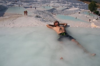 Pamukkale natural pools and around – travel report