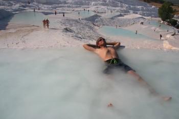 Pamukkale natural pools and around – travel report