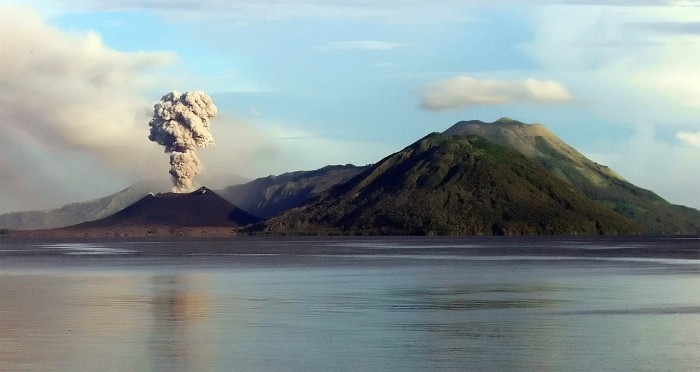 peru to polynesia map with Rabaul Volcano Ash Eruption Papua New Guinea on The Caves Resort besides Easter Island Chile as well Asia Pacific Union Flag 245219398 together with Kensington Palace also Turku Cathedral.