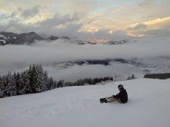 Skiing in Zell am See and Kaprun, Austrian Alps