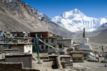 Rongbuk Monastery to Everest Base Camp