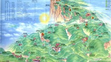 Mt. Emei Map