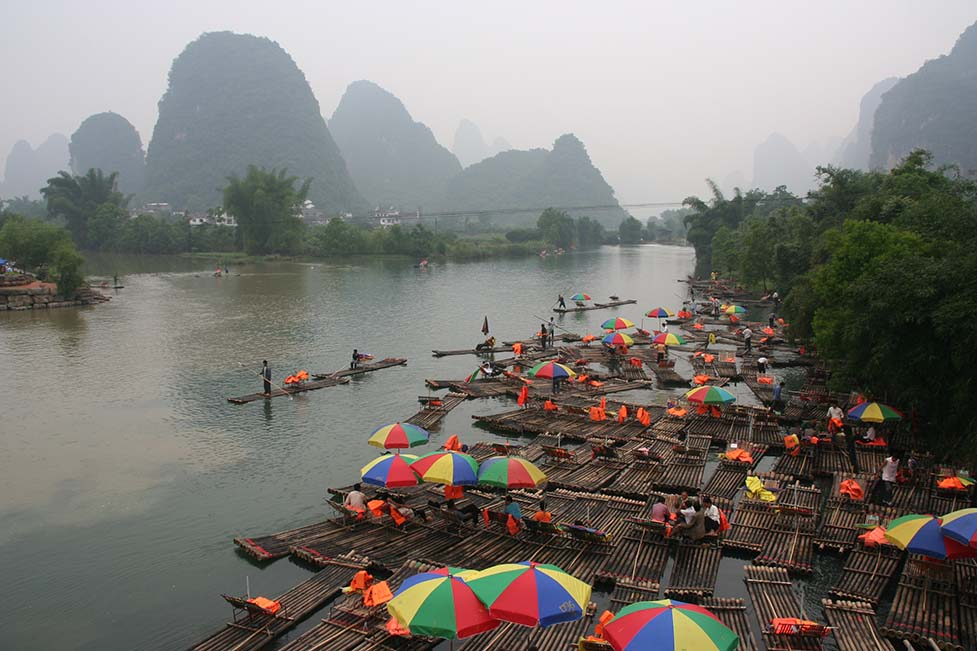Li river basin in China – most impressive karst caves in the World