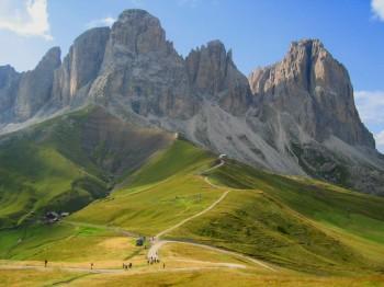 Dolomite Alps: Alta Via #2 by Via Ferratas