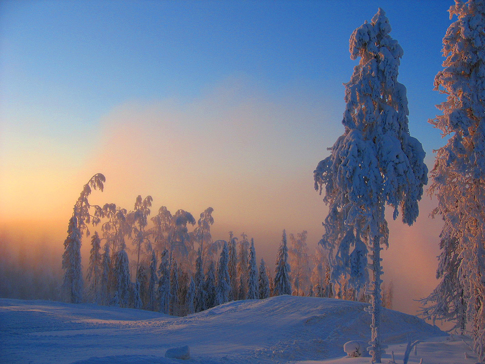 Tahko: North of Finland between Christmas and New year