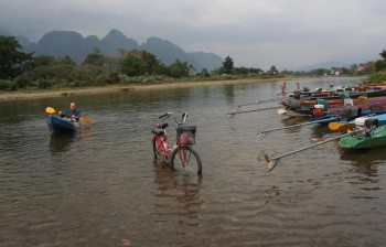 Vang Vieng, Laos: karst mountains, caves, underground rivers and much more…