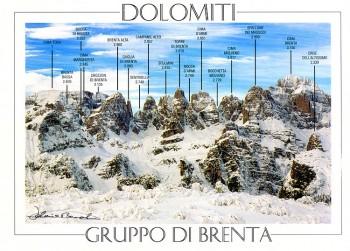 Gruppo di Brenta, Dolomite Alps