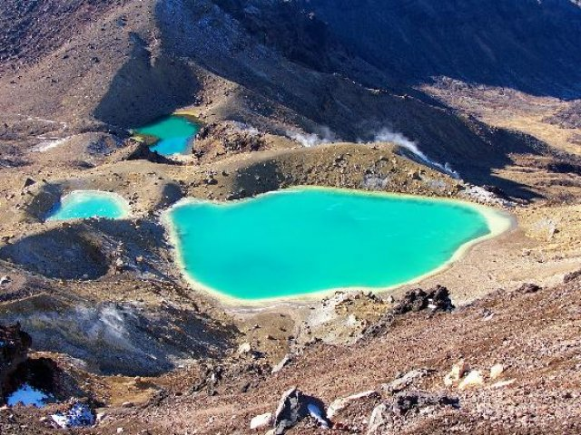 Tongariro NP trekking, New Zealand