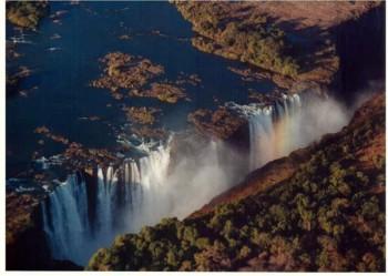 Victoria Falls, Zambezi River, Zambia and Zimbabwe