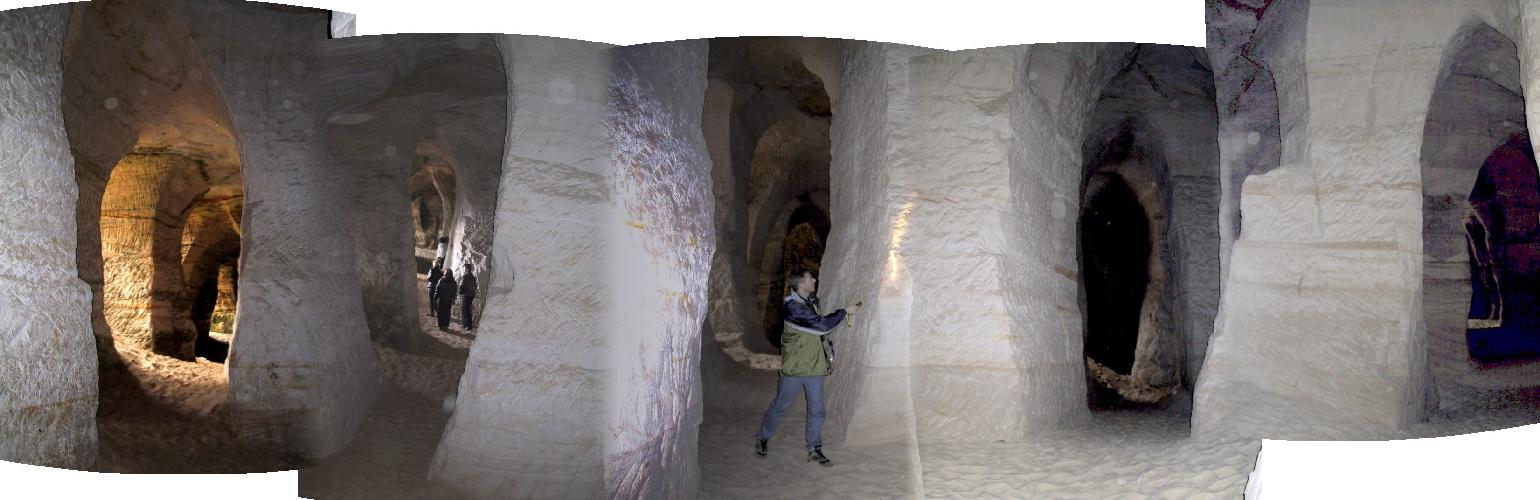 Unbelievable cave labyrinths in Estonia