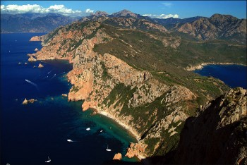 Grande Randonnee 20 (GR20) trek in Corsica island, France