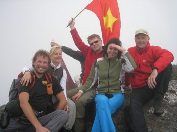 Climbing Fansipan – highest peak of Indochina