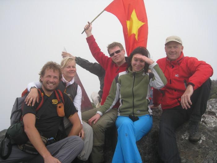 Climbing Fansipan – highest peak of Indochina