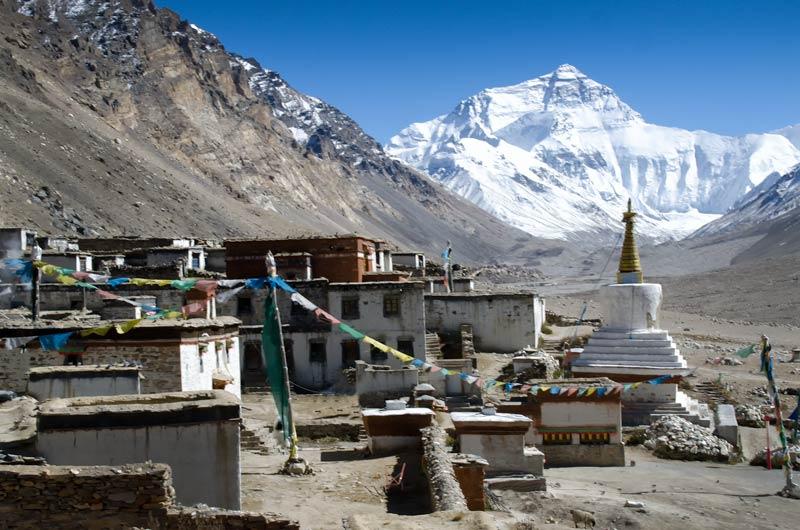 Rongbuk Monastery to Everest Base Camp